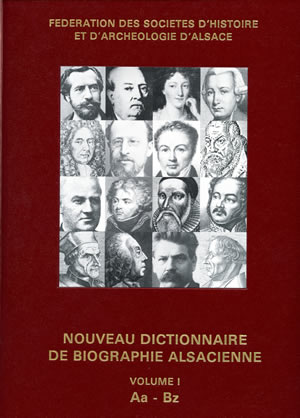 Dictionnaire de biographies alsaciennes