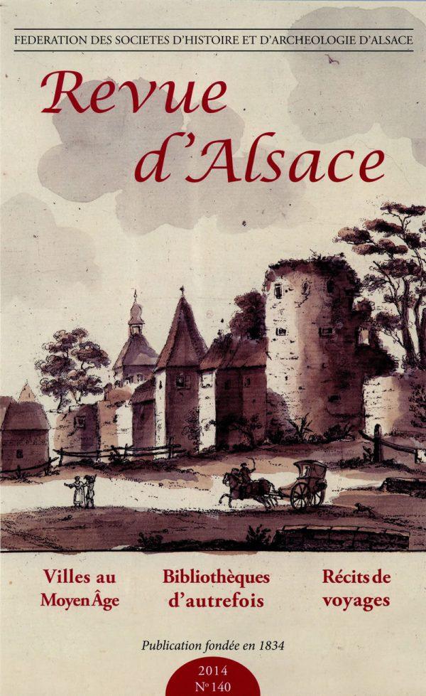 Revue d'Alsace 2014 - 140