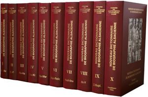 nouveau dictionnaire de biographie alsacienne