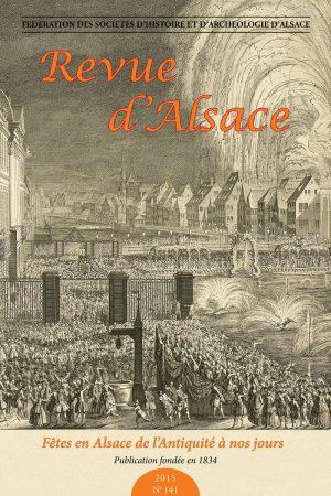Revue d'Alsace 2015 - N°141